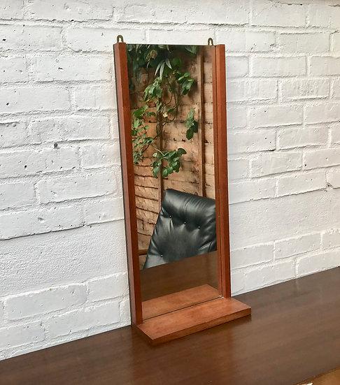 Retro Hall Wall Mirror with Shelf #485