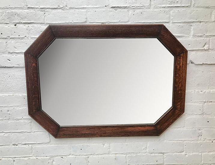 Vintage Wall Mirror Large Octagonal #688