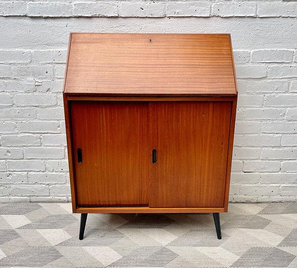 Vintage Bureau Cabinet Desk front
