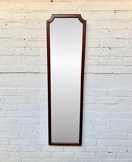 Vintage Wall Mirror Wood Frame front