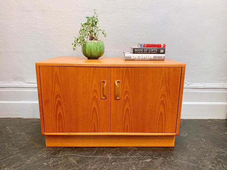 Vintage G Plan Cabinet Small Sideboard Teak front