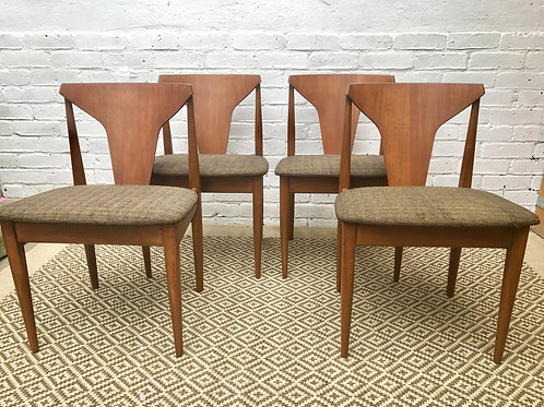 SET OF4 DINING CHAIRS