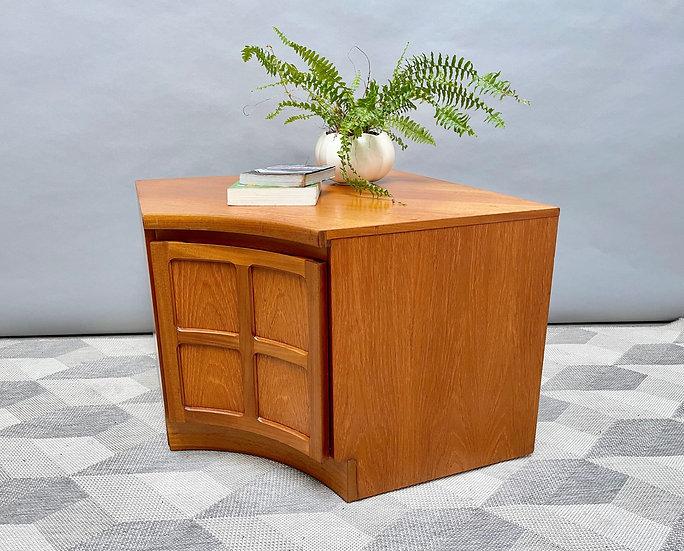 Vintage Corner Cabinet by Nathan Parker Knoll