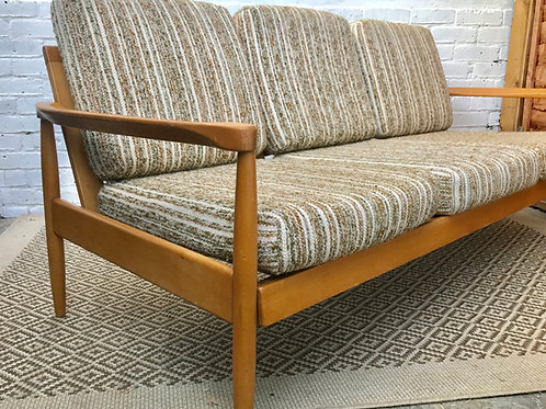 Mid Century Retro Wooden Sofa #339
