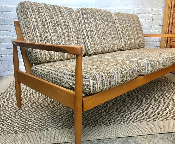 Mid Century Retro Wooden Sofa #339