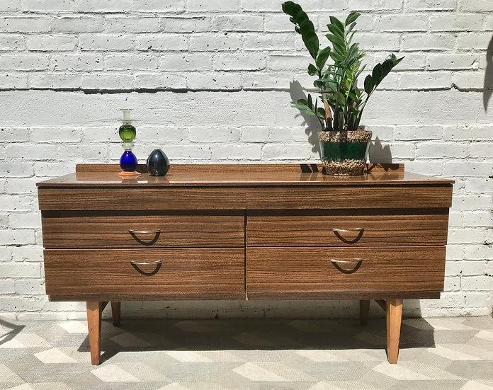 Vintage Retro Sideboard Cabinet Wooden #582