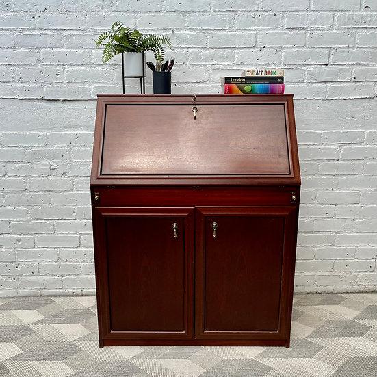 Vintage Bureau Cabinet Desk