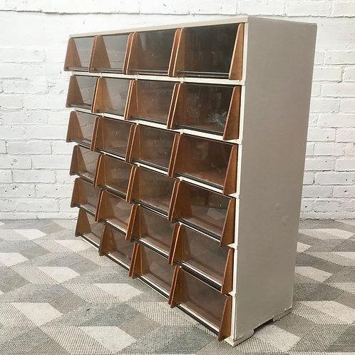 Vintage Haberdashery Drawers Filing Storage Display #878