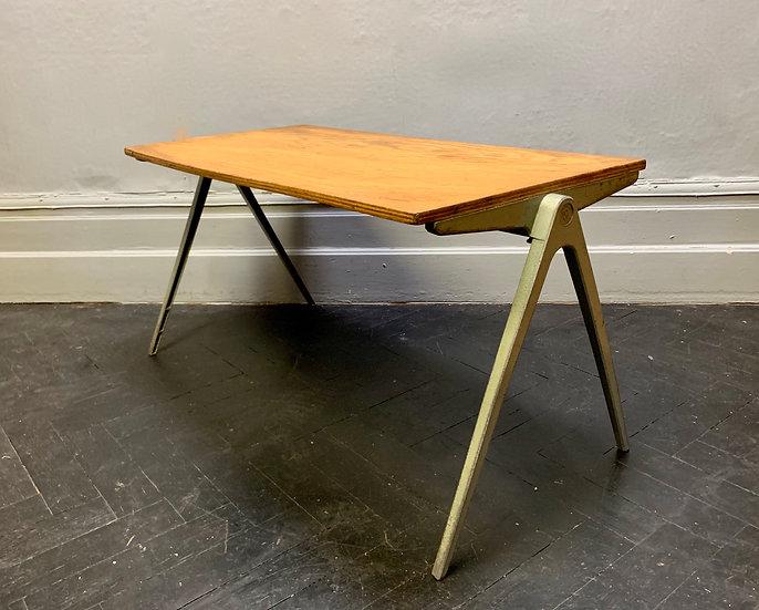 Vintage Child Desk Coffee Table by Esavian #D15
