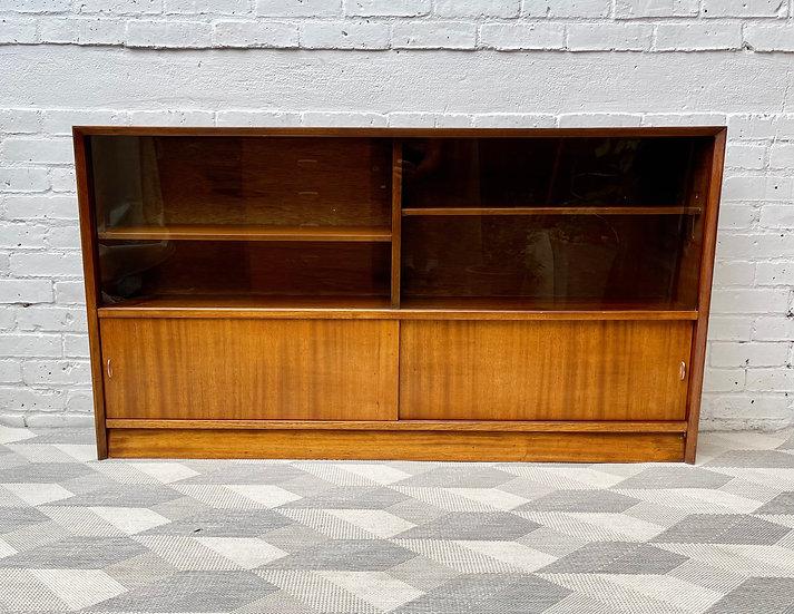 Vintage Sideboard Bookshelf Cabinet by Herbert E Gibbs
