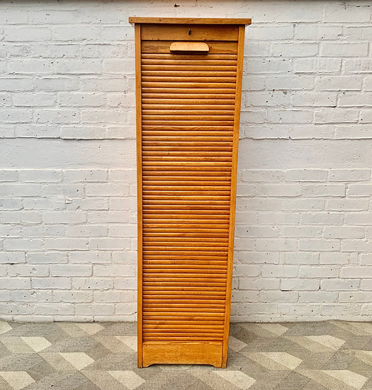 Vintage Tabour Cabinet Cupboard Haberdashery Tall