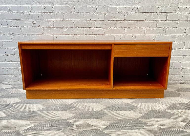 Vintage Teak Sideboard Record Cabinet by G Plan front
