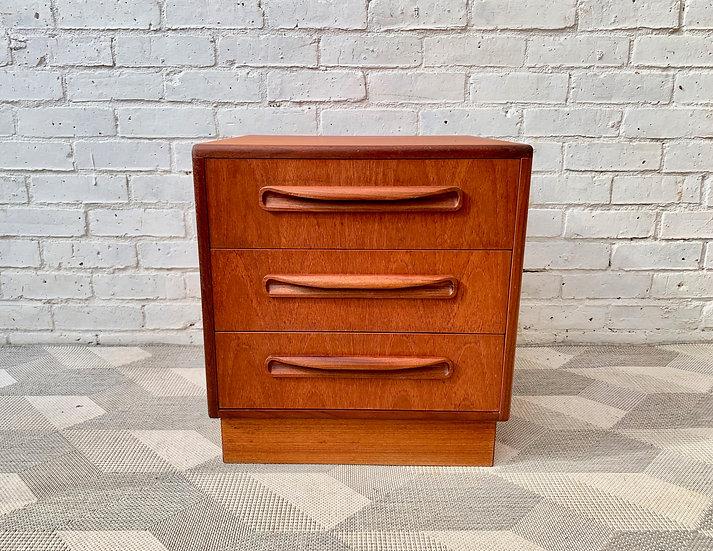 Vintage Bedside Table Drawers G Plan Teak #D165