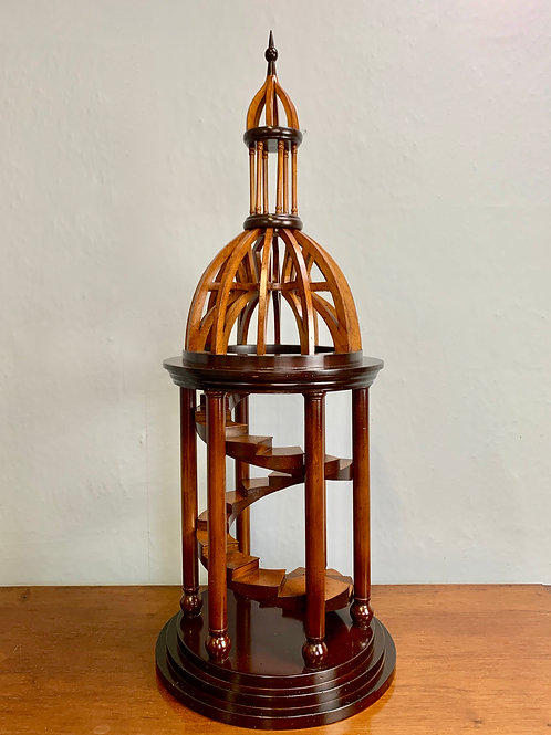 Architectural Model Staircase Wooden Dome #982