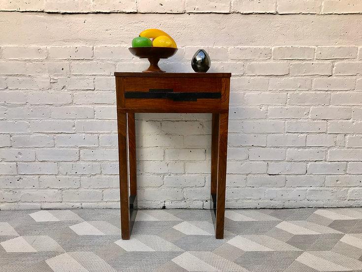 Vintage Retro Art Deco Side Table #537