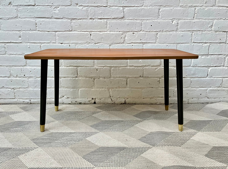Vintage Coffee Table with Dansette Legs
