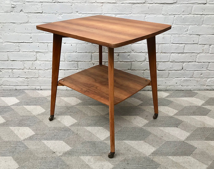 Vintage Square Side Table Coffee Table #889