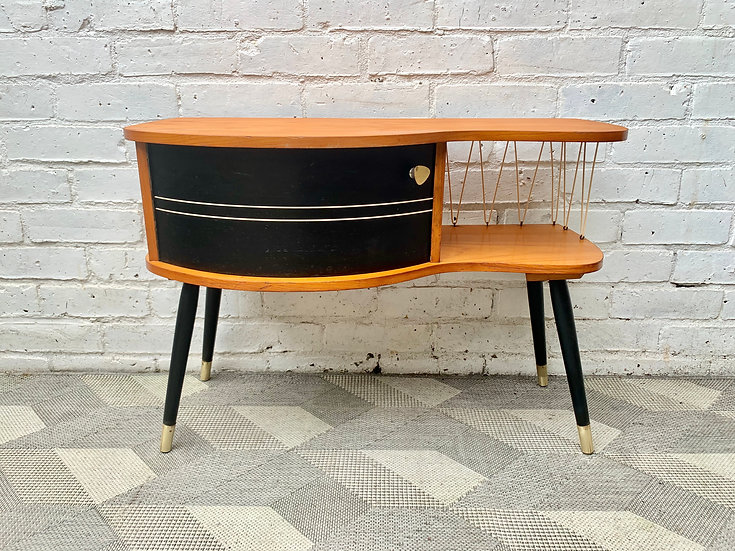 Vintage Side Telephone Table #D478