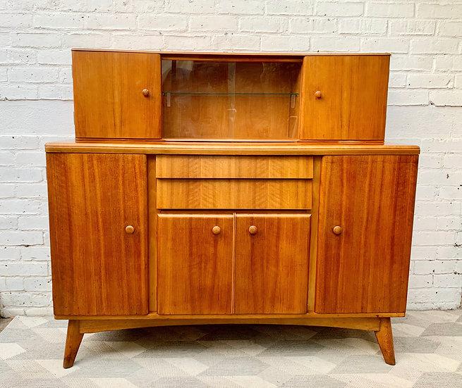 Vintage Sideboard Highboard Drinks Cabinet