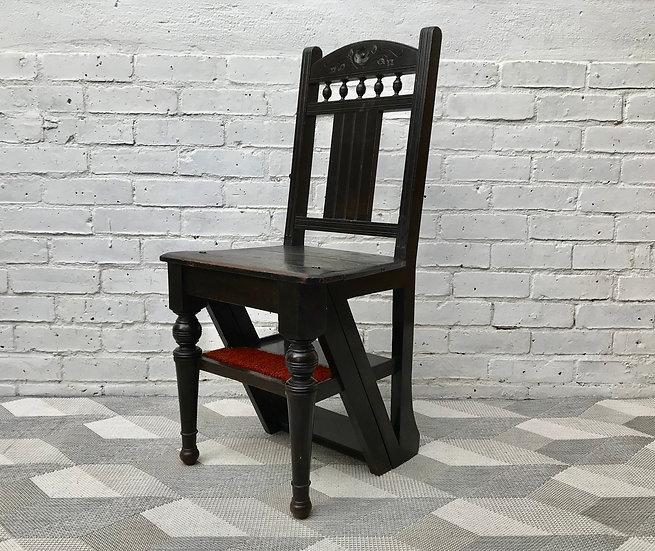 Metamorphic Folding Library Ladder Chair #594