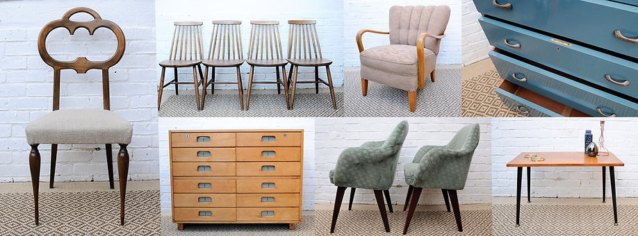 Vintage furniture for sale