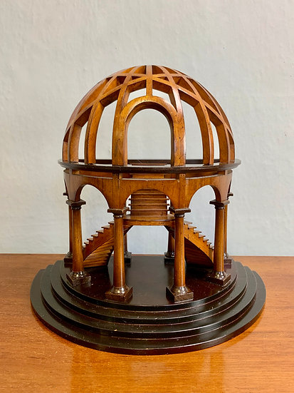 Architectural Model Staircase Wooden Dome #983