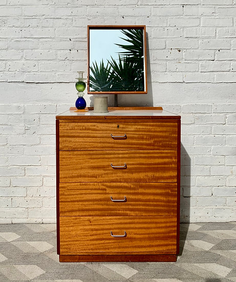 Vintage Dressing Table Drawers by Ministry of Defence