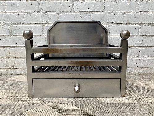 Polished Fire Grate Basket front