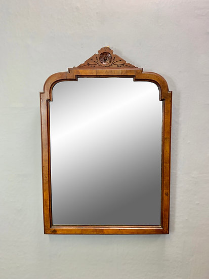 Victorian Wall Mirror with Walnut Frame D71