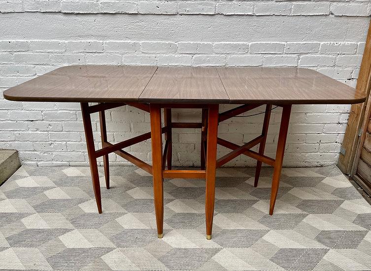 Vintage Folding Formica Dining Table