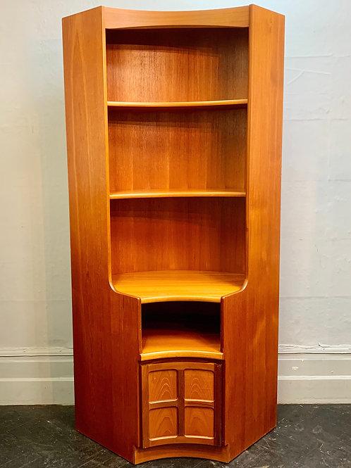 Large Vintage Corner Cabinet by Nathan #D468