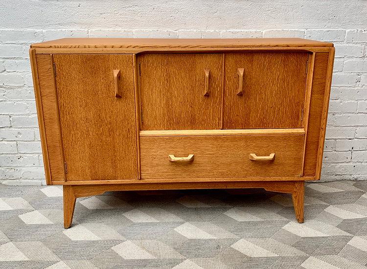 Vintage G Plan Sideboard Cabinet Oak #D11