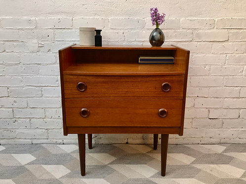 Vintage Retro Bedroom Drawers Dressing Table #626