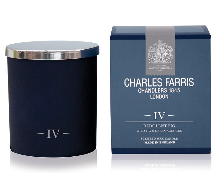 Redolent Fig Signature Candle - Charles Farris front