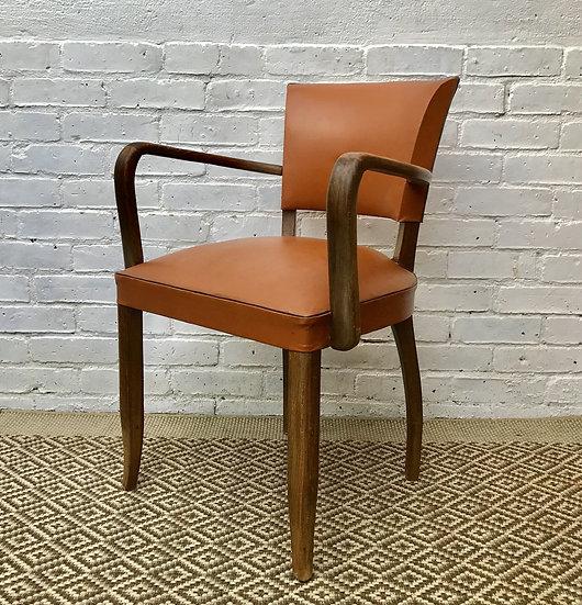Vintage French Bridge Side Chair #386