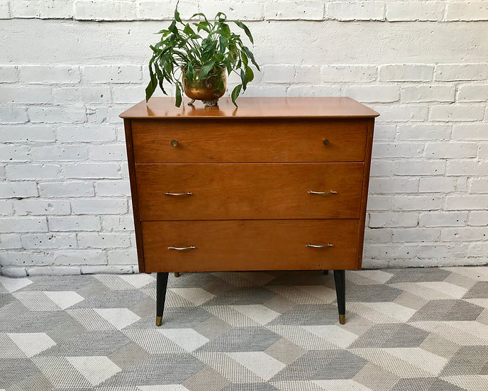 Vintage Retro Chest of Drawers Bedroom #527