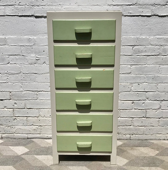 Vintage Tallboy Chest of Drawers #675