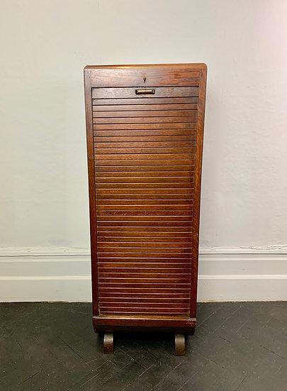 Vintage Filing Cabinet Tambour Haberdashery #950