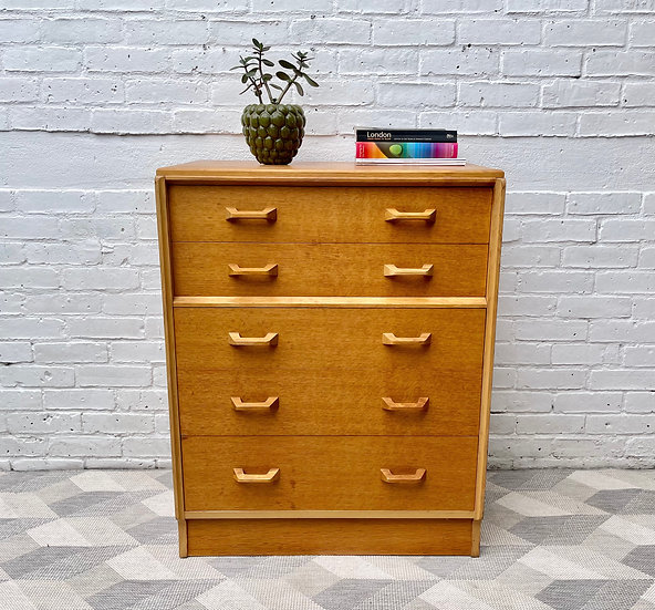 Vintage Chest of Bedroom Drawers by G Plan