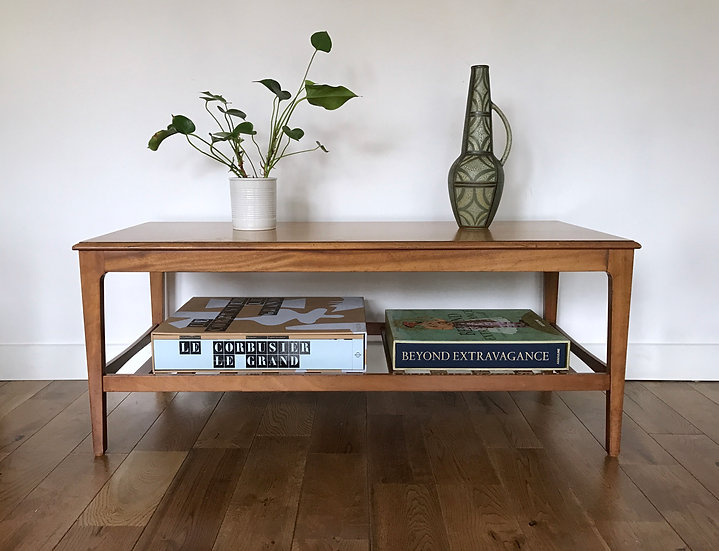 LARGE RETRO COFFEE TABLE by REMPLOY