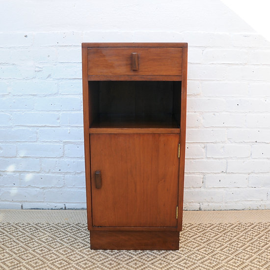 RETRO DECO STYLE BEDSIDE TABLE