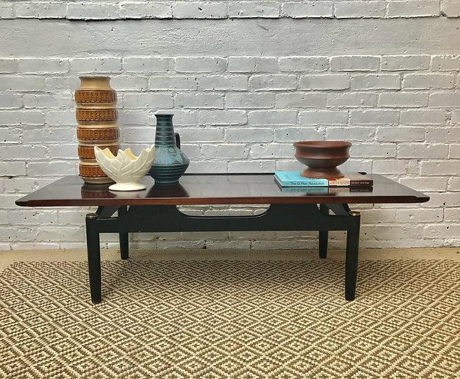 Long Vintage Retro G Plan Coffee Table #183