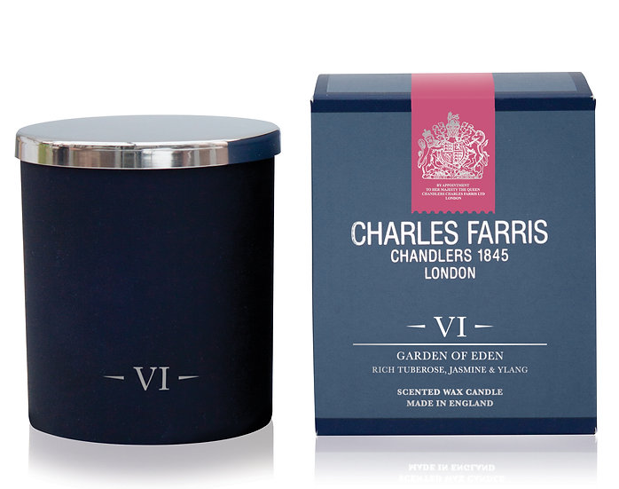 Garden of Eden Scented Candle - Charles Farris front