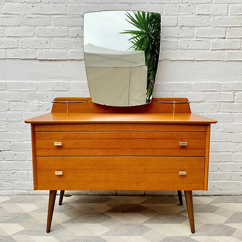Vintage Dressing Table with Mirror by Lebus #D480
