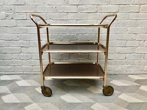 Vintage Retro Tea Drinks Trolley Bar Cart #552