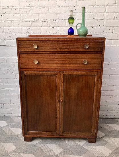 Vintage Tallboy Drawers Bedroom Cupboard #905