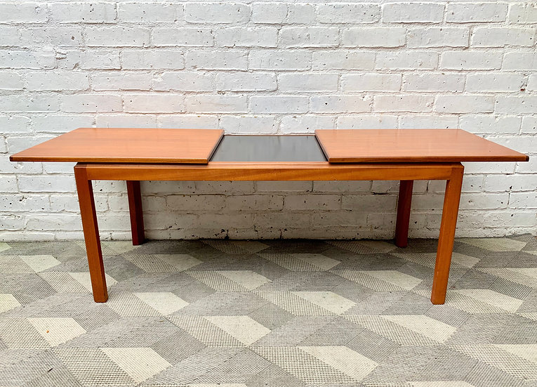 Vintage Teak Extending Coffee Table from Belgium #D487