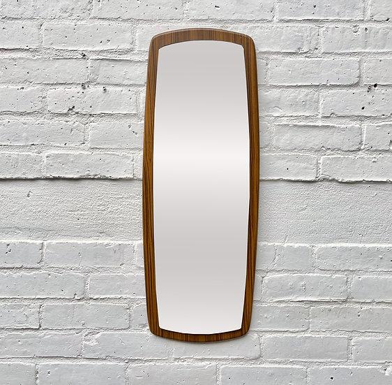 Small Vintage Rectangular Wall Mirror