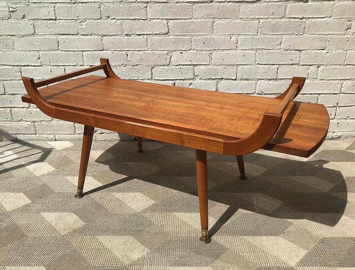 Vintage Coffee Table Reversible Formica #776