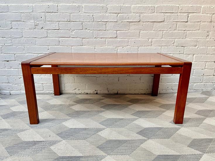 Vintage Danish Teak Coffee Table front